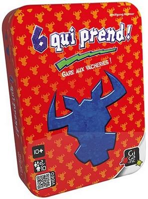 6 Qui Prend (boite metal)