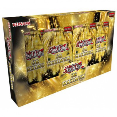 YuGiOh coffret Gold Maximum