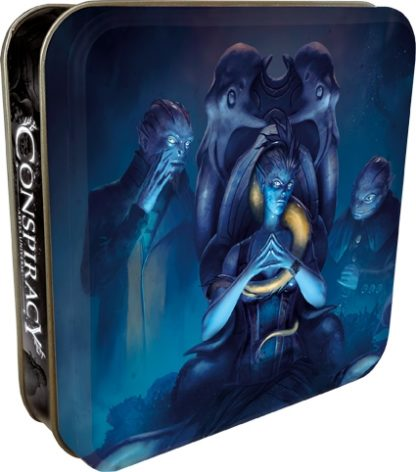 Abyss Conspiracy Universe bleu