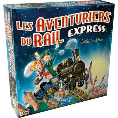 Aventuriers du Rail Express - jeu de base