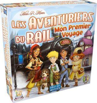 Aventuriers du Rail Mon premier voyage Europe - jeu de base