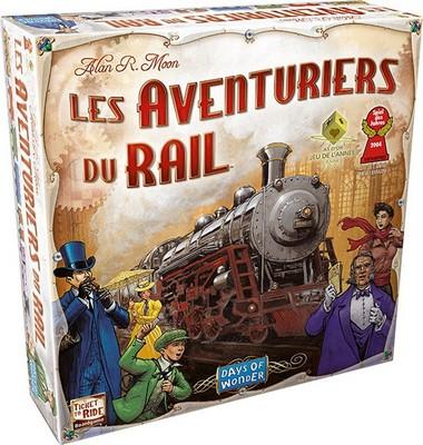 Aventuriers du Rail US - jeu de base