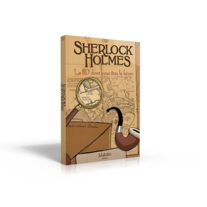 BD dont vous etes le heros : Sherlock Holmes 1