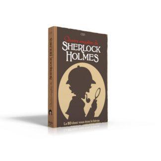 BD dont vous etes le heros : Sherlock Holmes 2 - Quatre aventures