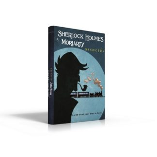 BD dont vous etes le heros : Sherlock Holmes 3 - Moriarty