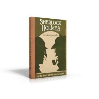 BD dont vous etes le heros : Sherlock Holmes 4 - defi irene adler