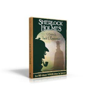 BD dont vous etes le heros : Sherlock Holmes 5 ombre de Jack eventreur