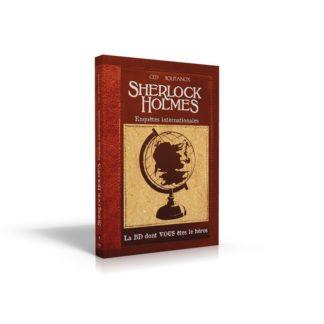 BD dont vous etes le heros : Sherlock Holmes 6 enquetes internationale