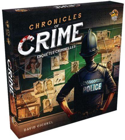 Chronicles of crime - jeu de base