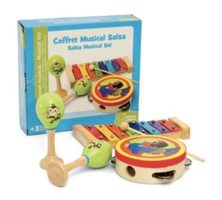 coffret musical salsa