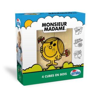 cubes en bois monsieur madame