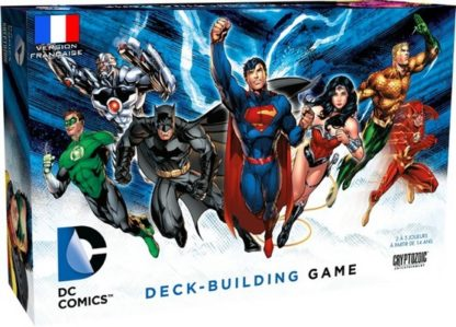 DC Comics Deck Building - jeu de base