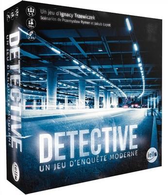Detective un jeu d enquete moderne - jeu de base
