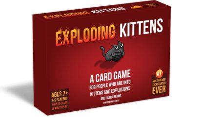 Exploding Kittens - jeu de base