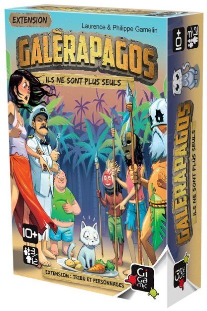 Galerapagos ext. Tribu et personnages