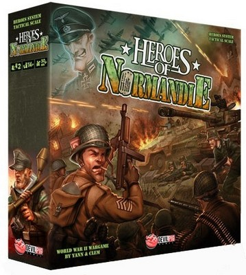 Heroes of Normandie core box [FR]