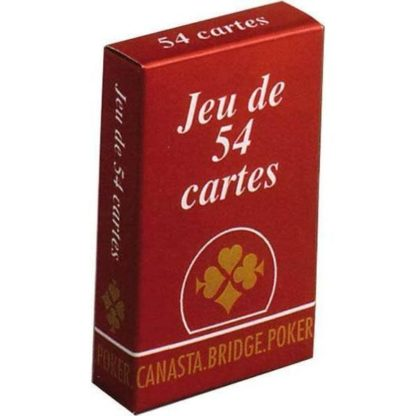jeu de 54 cartes Gauloises