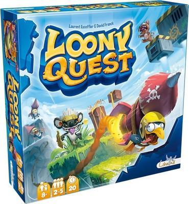 Loony Quest - jeu de base
