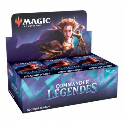 magic boite booster commander legends fr