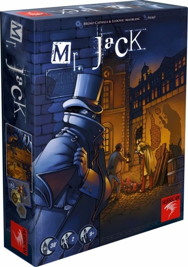 Mr Jack London - jeu de base