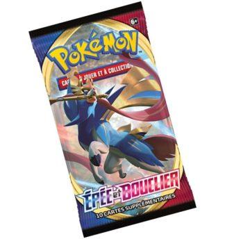 Pokemon booster EB01 Epee et Bouclier 1