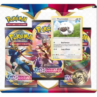 Pokemon Coffret 3 boosters fin annee 2020
