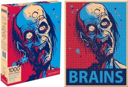 puzzle Zombie Brains - Aquarius (1000pcs)