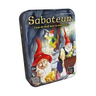 Saboteur (boite metal) - jeu de base