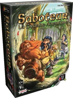 Saboteur la grande aventure - jeu de base