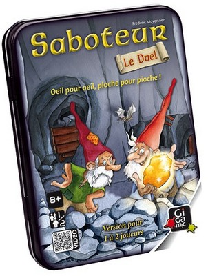 Saboteur Le Duel - jeu de base
