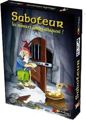 Saboteur Les Mineurs Contre Attaquent - jeu de base et extension