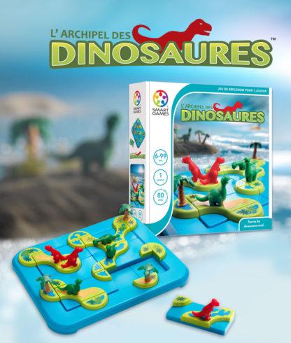 SMART GAMES L Archipel des Dinosaures