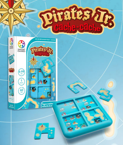 SMART GAMES Cache Cache Pirates Jr