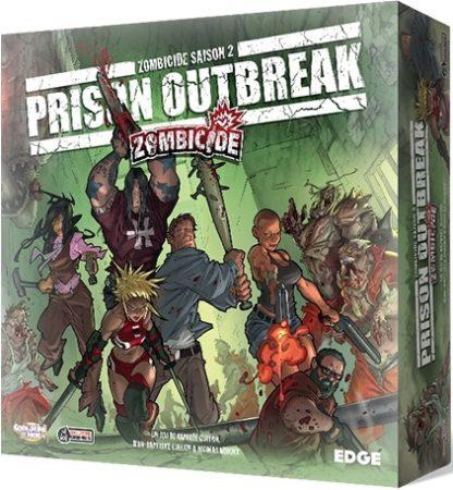 Zombicide 2 Prison Outbreak - jeu de base