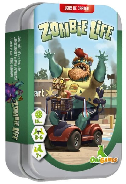 Zombie Life le jeu de cartes